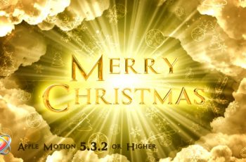 Heavenly Christmas Titles - Apple Motion - Download Videohive 20940772