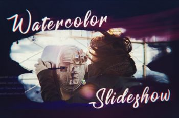 Ink Watercolor Slideshow - Download Videohive 20596022