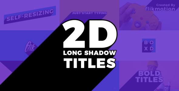 Long Shadow Titles - Download Videohive 21340659