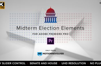Midterm Election Elements - Congress & Senate | MOGRT for Premiere Pro - Download Videohive 22771897