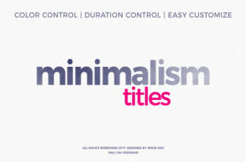 Minimalism - Download Videohive 20413807