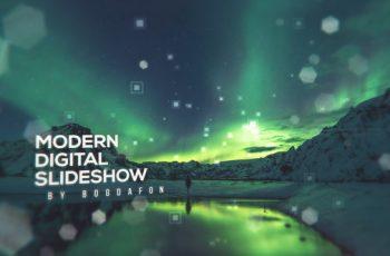 Modern Digital Parallax Slideshow | Opener - Download Videohive 19883648