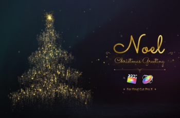 Noel Christmas Greetings for Final Cut Pro - Download Videohive 22663396