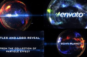 Particle Effect 8 (Sci Fi Planet) - Download Videohive 4244983