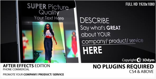 Phone Commercial - Download Videohive 2031231