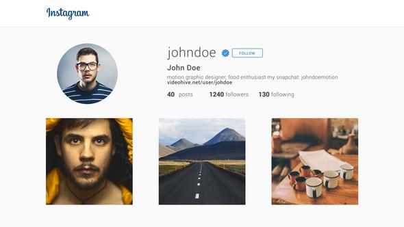 Short Instagram Promotion - Download Videohive 12470214