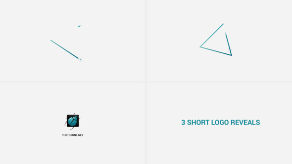 Short Logo Reveals - Download Videohive 10706670