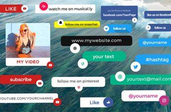 Social Media Info Box - Download Videohive 17785071