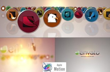 Social Media Logo V2 - Apple Motion - Download Videohive 22701463
