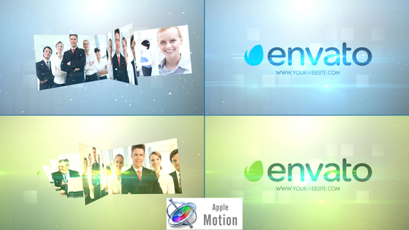 Stylish Simple Multi Video Logo - Apple Motion  - Download Videohive 22637587
