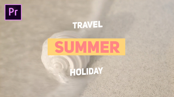 Summer Travel - Download Videohive 21901873