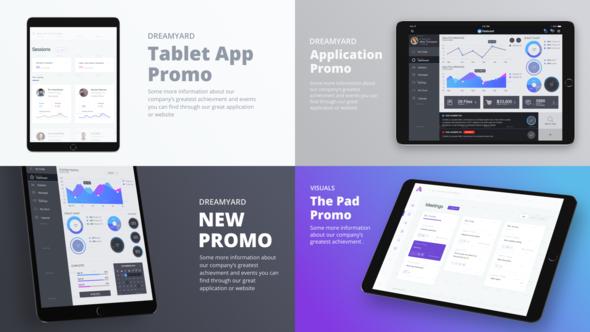 Tablet Presentation Kit - Download Videohive 21546834
