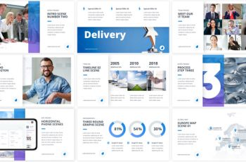 The One - Corporate Presentation Pack - Download Videohive 22543022