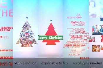Typo & Video Christmas Logo Intro - Download Videohive 9646963