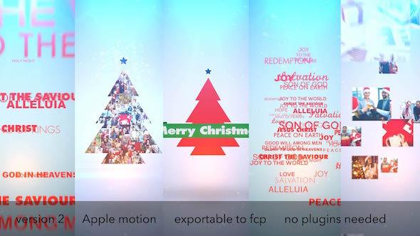 Typo & Video Christmas Logo Intro - Download Videohive 9646963