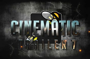 Cinematic Trailer 7 - Download Videohive 20317621