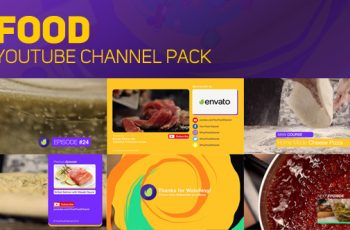 Youtube Food Channel Package - Download Videohive 18925656
