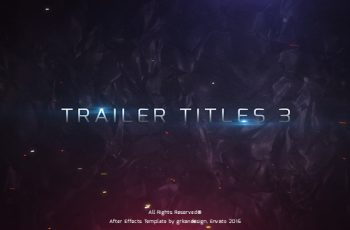 Trailer Titles 3 - Download Videohive 15925573