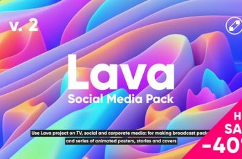 Lava | Social Media Pack - 24118486 Videohive Download