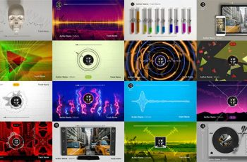 50 Audio Spectrum Music Visualizers - 19627228 Download Videohive
