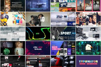 20 Premium After Effects Videohive Templates