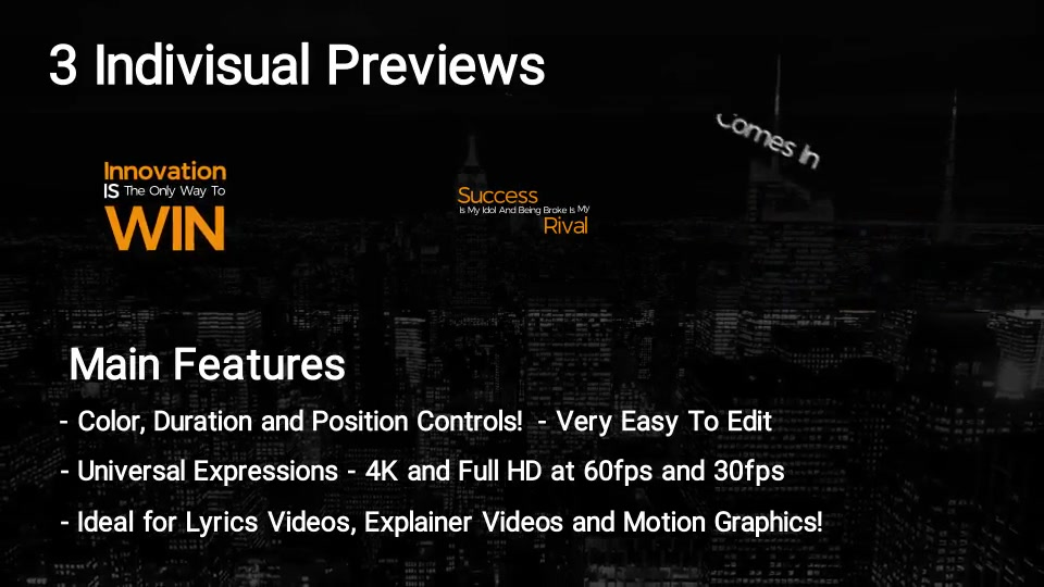100 Kinetic Titles Videohive 21780143 Premiere Pro Image 11
