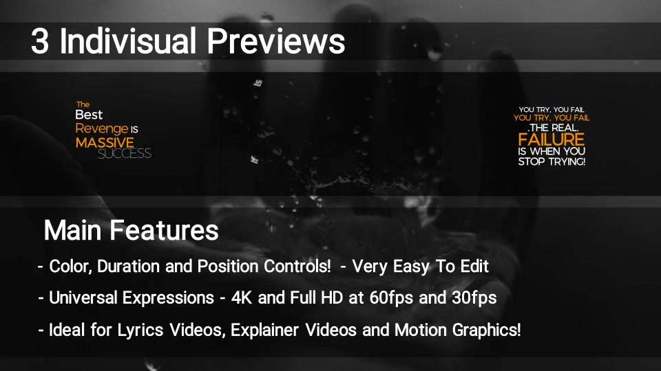 100 Kinetic Titles Videohive 21780143 Premiere Pro Image 12