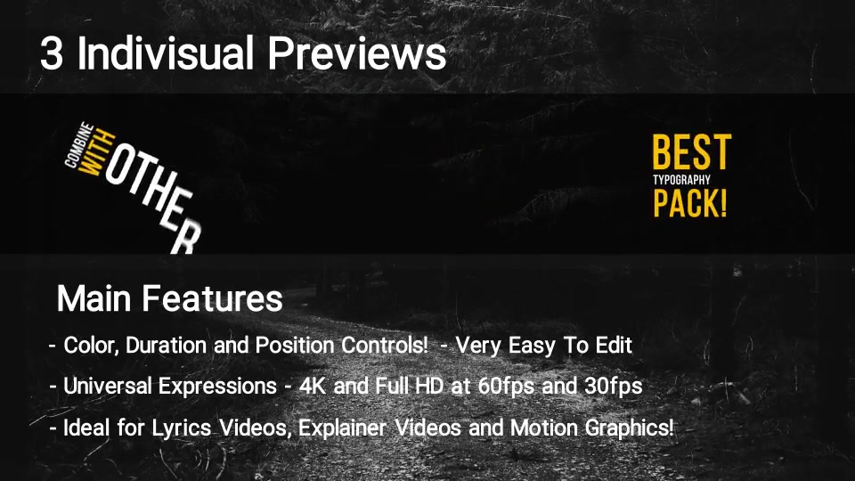 100 Kinetic Titles Videohive 21780143 Premiere Pro Image 4