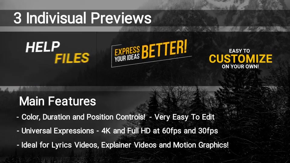 100 Kinetic Titles Videohive 21780143 Premiere Pro Image 5