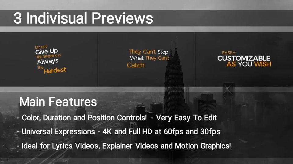 100 Kinetic Titles Videohive 21780143 Premiere Pro Image 8
