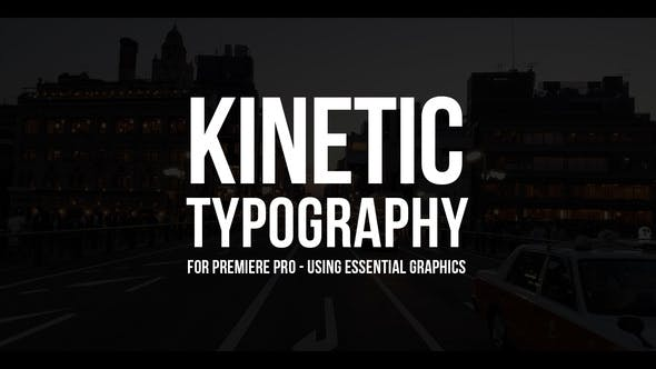 100 Kinetic Titles - Download Videohive 21780143