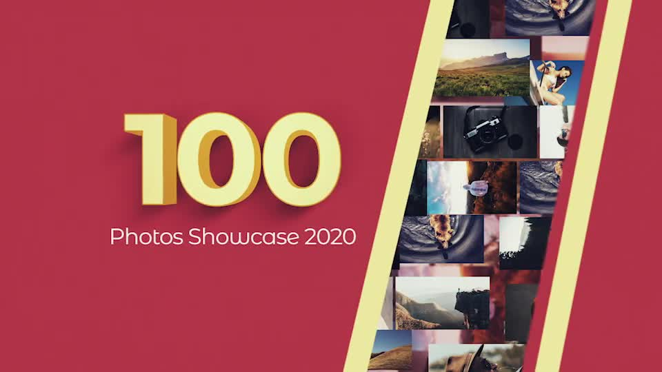 100 Photos Showcase Intro Videohive 29886638 After Effects Image 1
