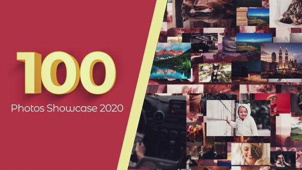 100 Photos Showcase Intro - Download Videohive 29886638