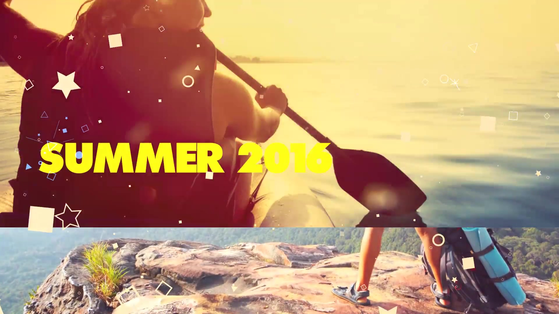100 Shots of Summer Typography Kinetic Slideshow Videohive 29360617 Premiere Pro Image 2