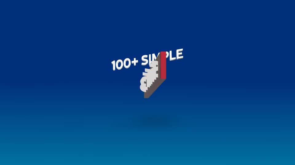 100+ Simple 3D Titles V1.2 - Download Videohive 21991295