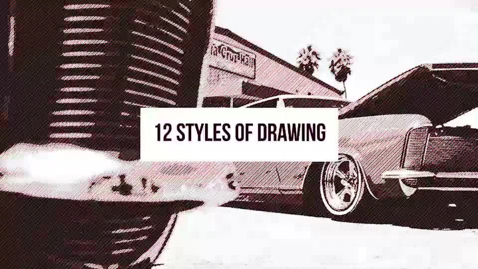 12 Styles Of Drawing - Download Videohive 17192708