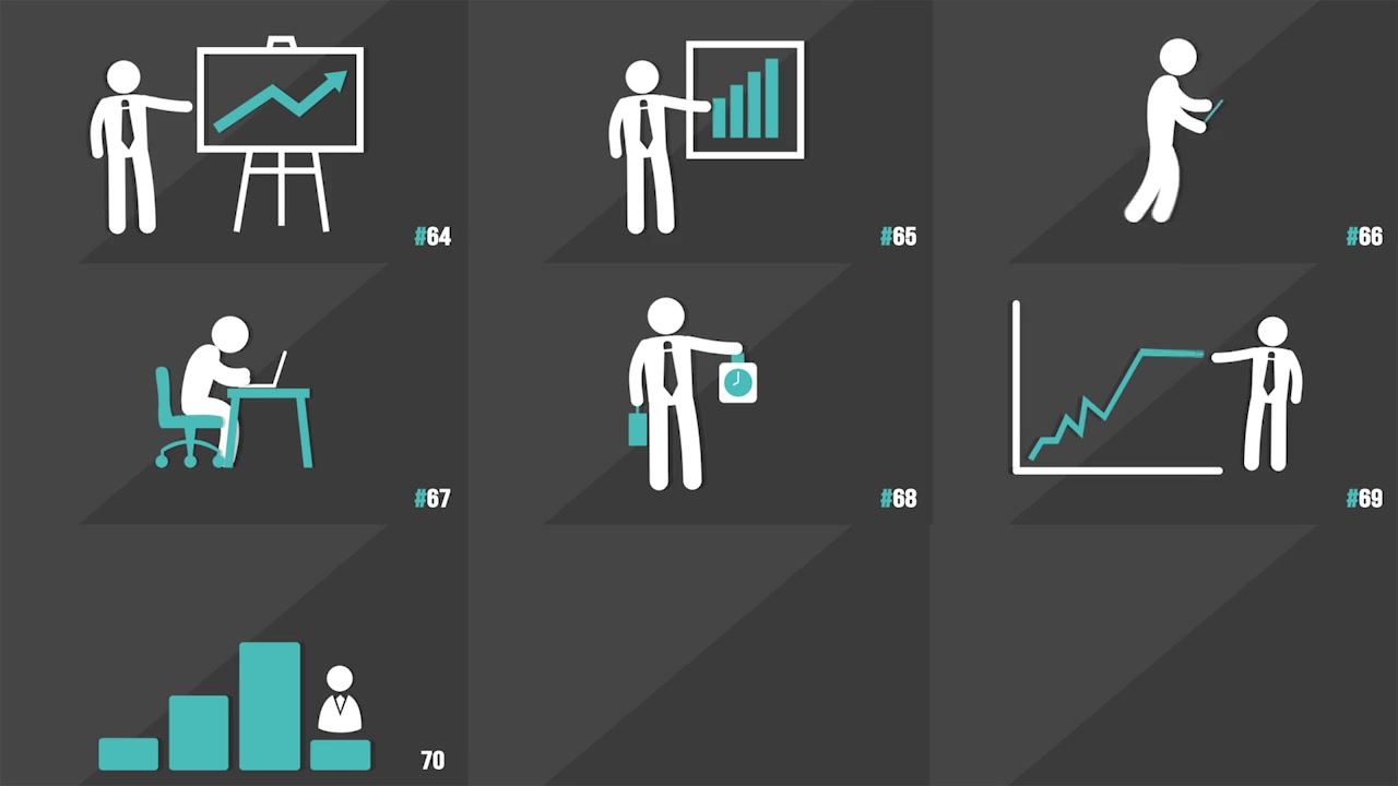 120 Element Icons People - Download Videohive 14942714