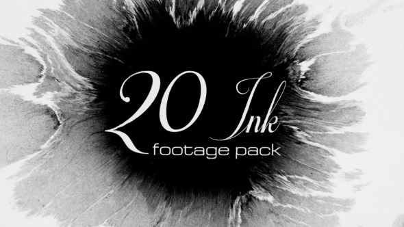 20 Ink footage pack  - Download Videohive 9863249