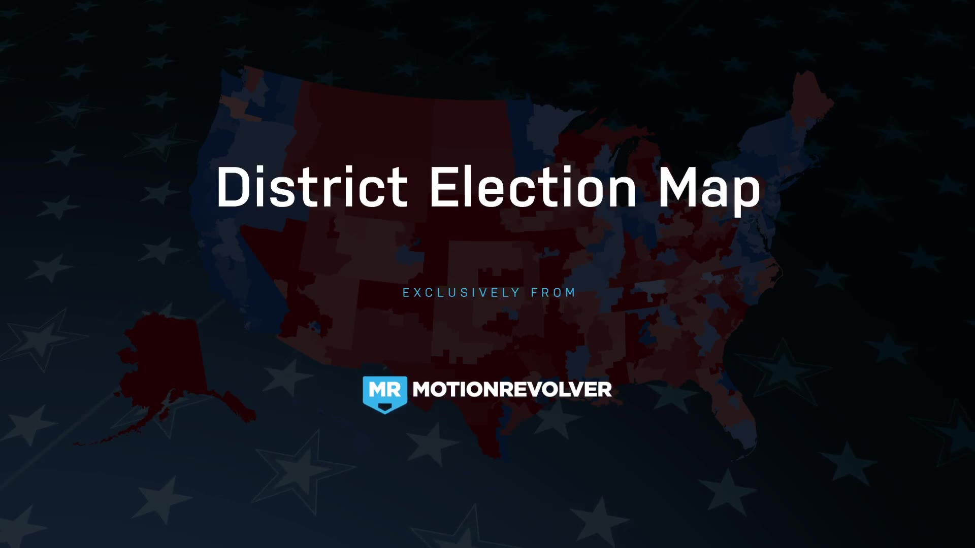 2018 Midterm Election Map | State Congressional Districts - Download Videohive 22714175