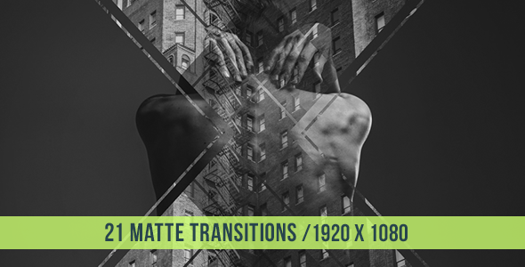 21 Matte Transitions - Download Videohive 16409398