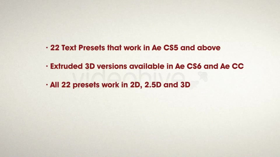 22 Awesome Cartoon Text Presets - Download Videohive 4939131
