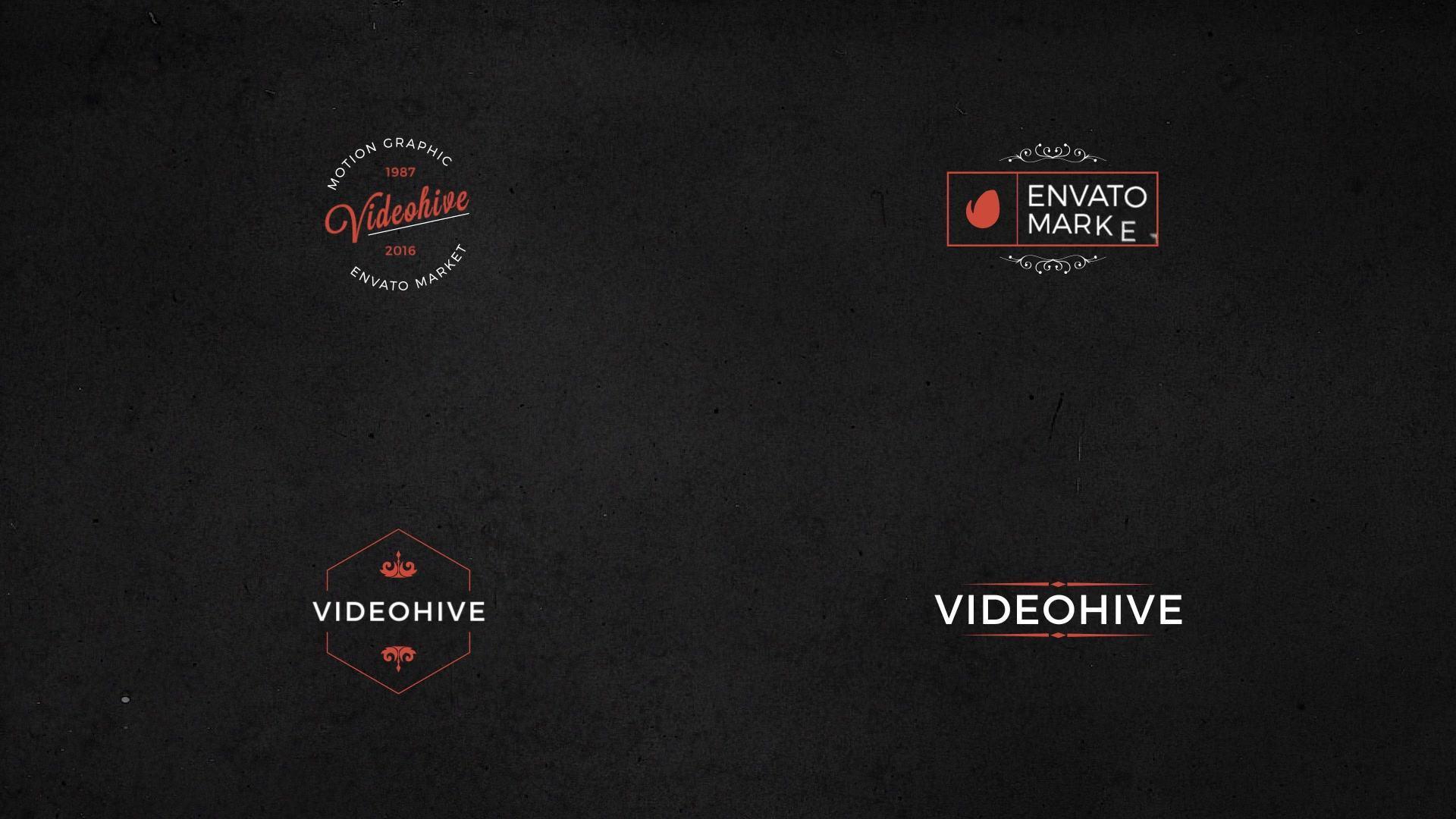 25 Animated Titles & Badges & labels - Download Videohive 17286686