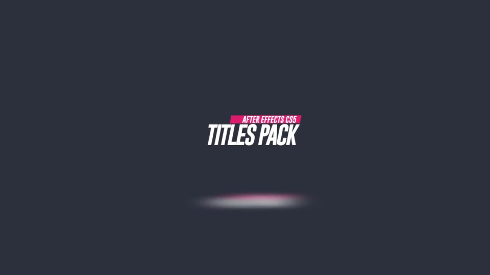25 Minimal Titles - Download Videohive 12812169