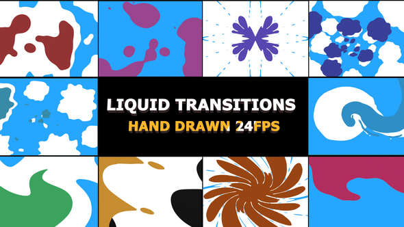 2D FX Liquid Transitions - Download Videohive 21740574