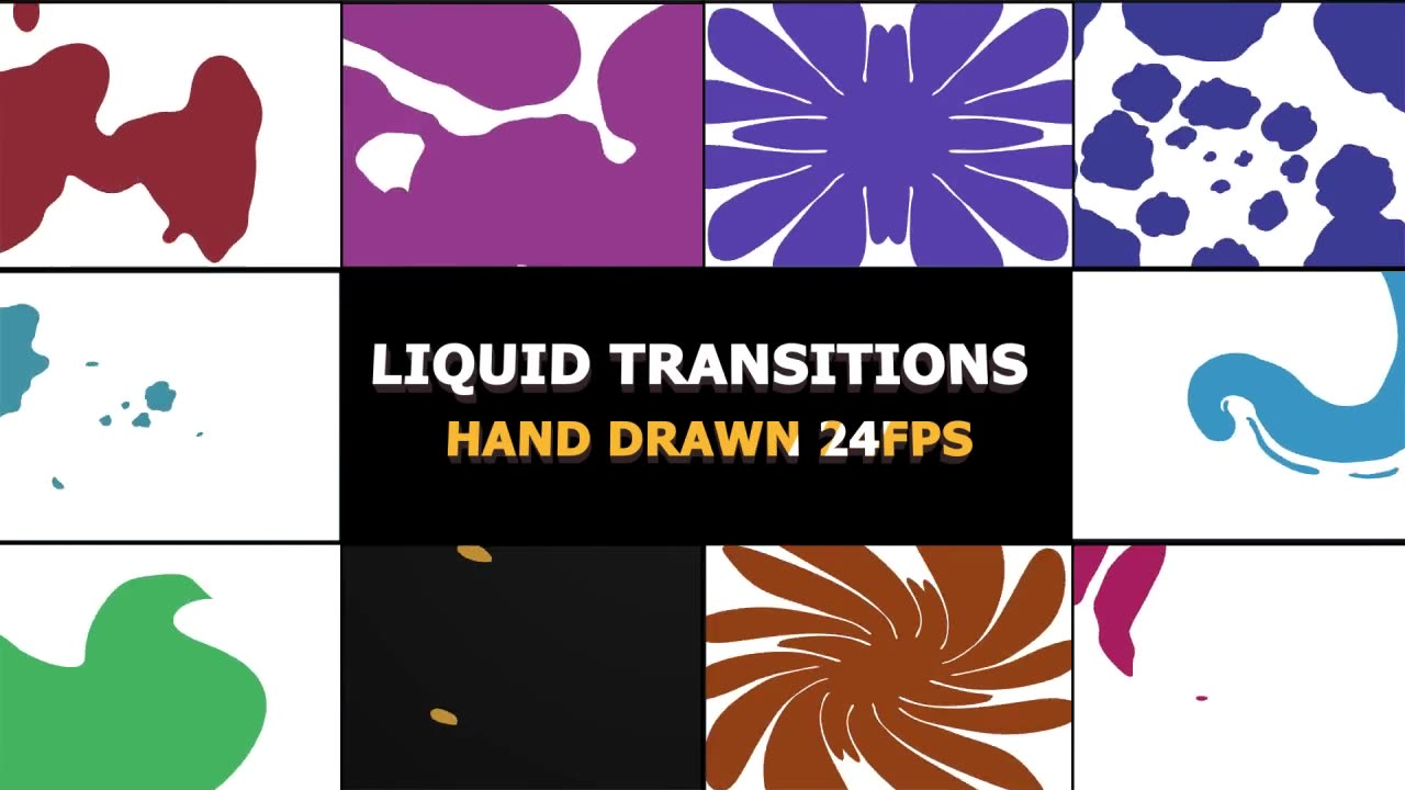 2D FX Liquid Transitions - Download Videohive 22869616