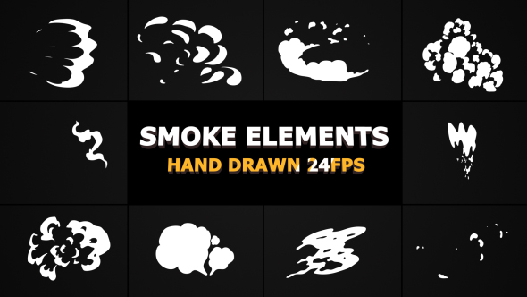 2d FX SMOKE Elements - Download Videohive 21241759