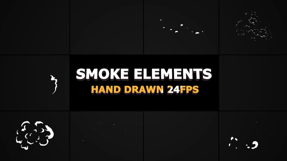 2D FX Smoke Elements - Download Videohive 22644738