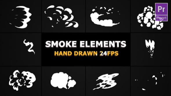 2D FX SMOKE Elements - Download Videohive 22679907