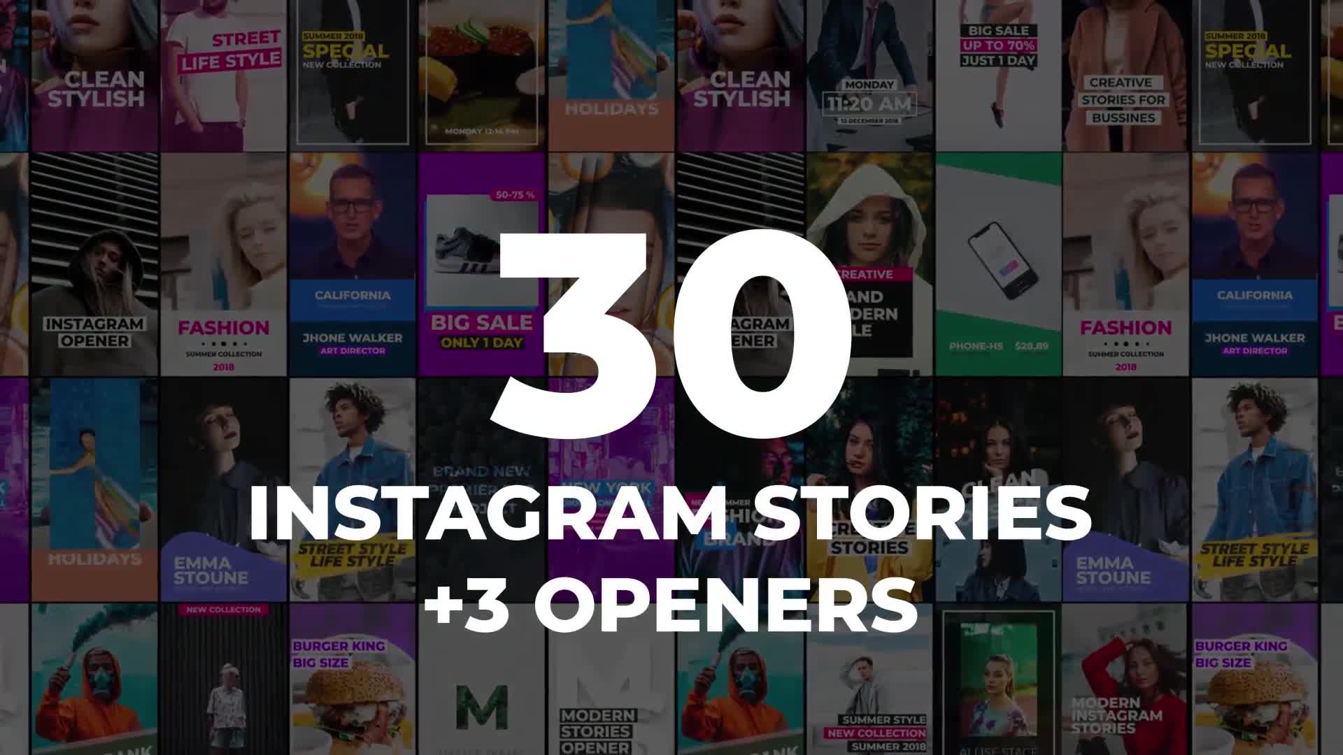 30 Instagram Stories - Download Videohive 22053915