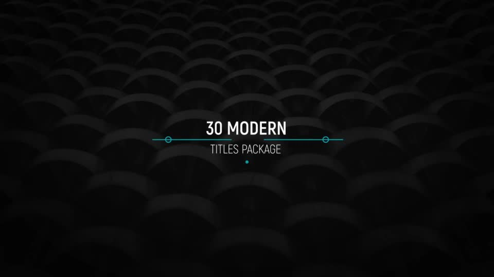 30 Modern Titles - Download Videohive 20503705
